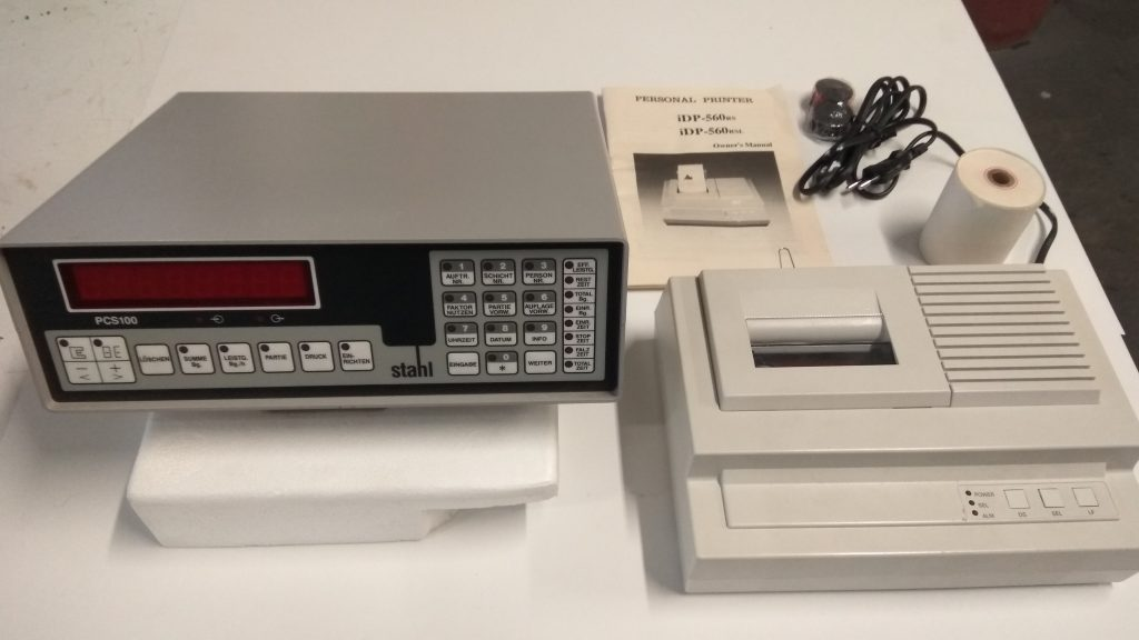 PCS100 + Impressora iDP560
